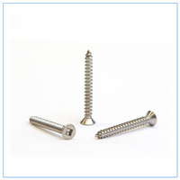 Flat HD Stainless 6g x 12mm Qty 50