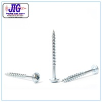 Pocket Hole Screws R/W 8g x 37mm Zinc Qty 100