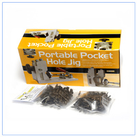Pocket Hole Jig with Softwood pack 200 screws